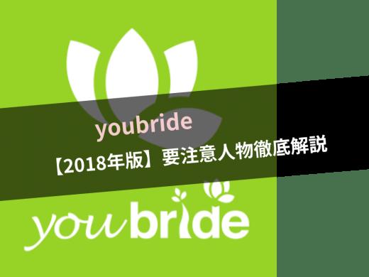 【2021年】youbride(ユーブライド)の要注意人物/サクラ/業者/詐欺などの手口と特徴