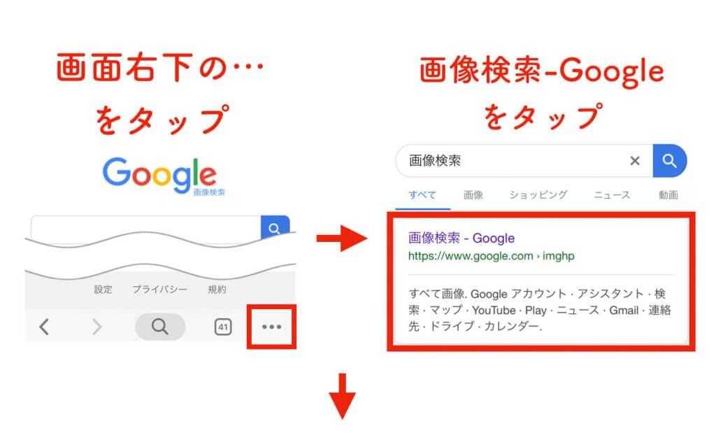 画像検索 手順2 (1)