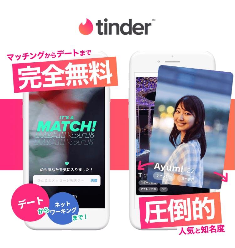 tinder イメージ画像